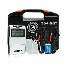digital tens unit with accessories muscle stimulator