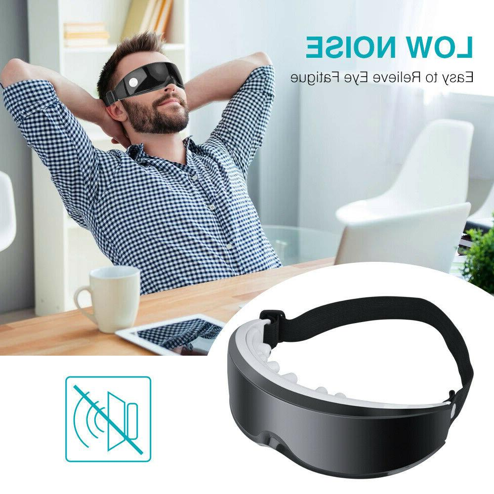 Electric Vibration Eye Massager Wearing Anti-Ageing Lifting Device