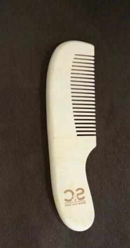 New Organic Infant Gift Goat 2 Hair & Wooden Comb