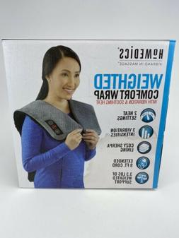 Homedics Weighted Comfort Wrap with Vibration and Soothing H