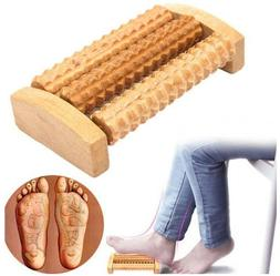 Wooden traditional foot roller massager health care product